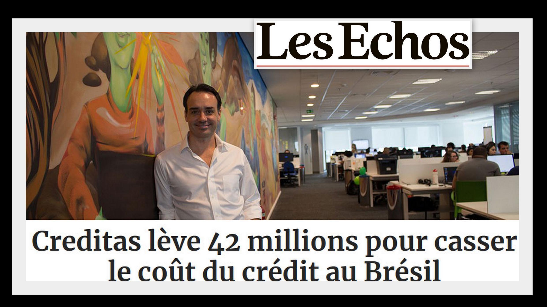 O jornal Les Echos desta terça-feira (13) comenta o sucesso da Creditas, empresa criada há cinco anos em São Paulo pelo espanhol Sergio Furio (foto).