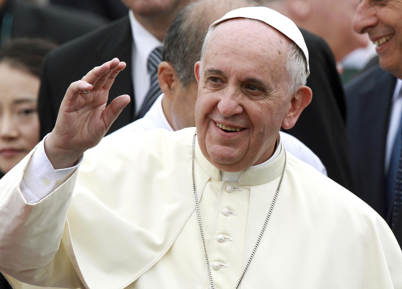 Đức Giáo hoàng Phanxicô viếng thăm Hàn Quốc nhằm củng cố đạo Công giáo tại châu Á - REUTERS /Hwang Gwang-mo /Yonhap