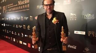 Marco Martins, realizador português, obteve dois prémios no Festival de cinema de Macau a 13 de Dezembro de 2016