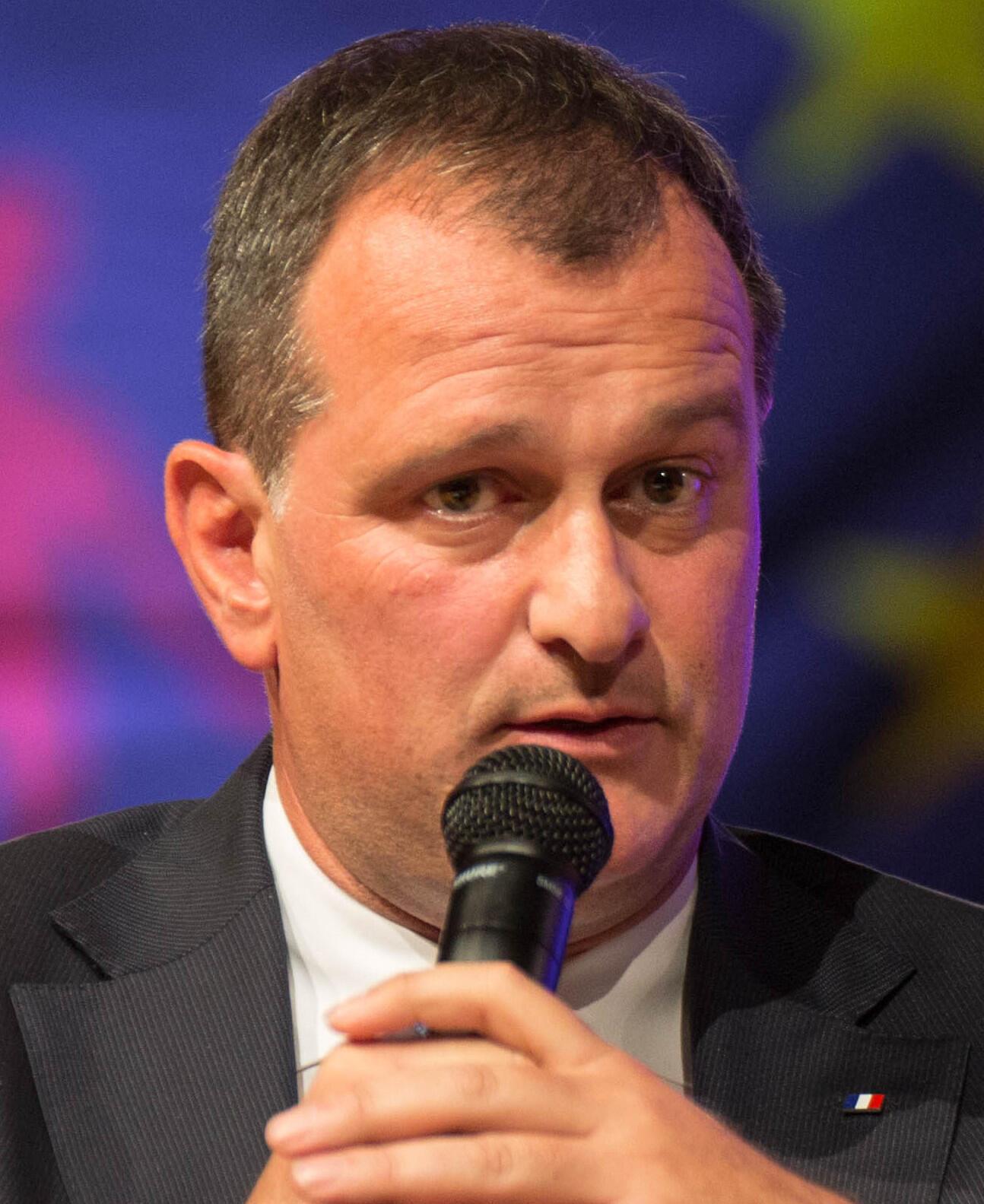 Louis Aliot, député des Pyrénées-Orientales et vice-président du Rassemblement national.