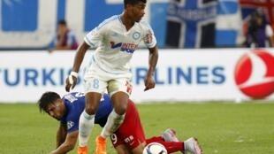 Le joueur de l'OM Mario Lemina devrait honorer sa première sélection avec le Gabon le 5 septembre.