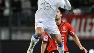 Fahid Ben Khalfallah a été déterminant pour le VAFC à Rennes.