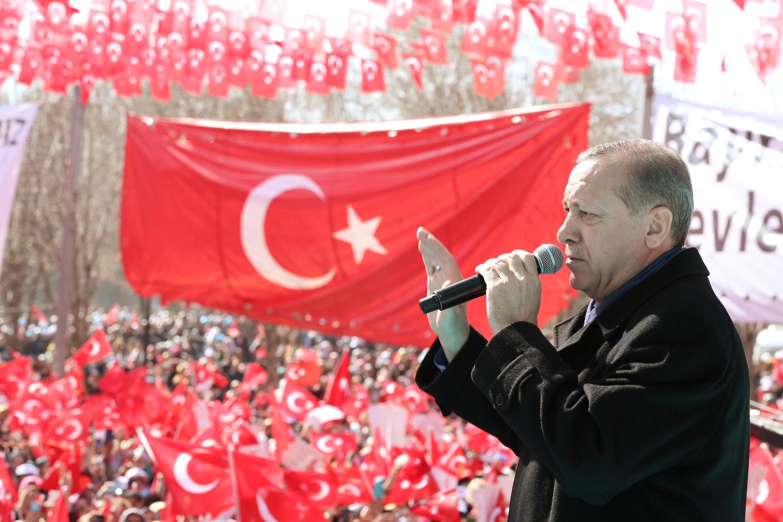 លោក Recep Tayyip Erdogan ប្រធានាធិបតីតួកគី