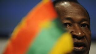 Burkina Faso's President Blaise Compaoré.