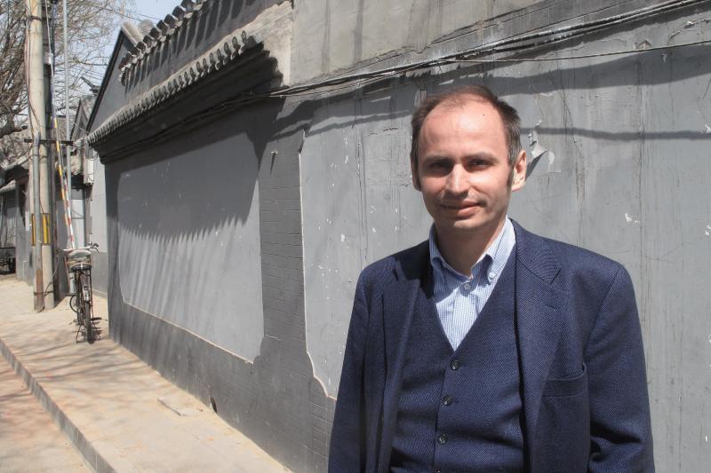 中國網絡與埃及象形文字研究專家何諾(Renaud de SPENS )在中國