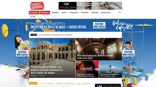 Page d'accueil du site frenchmorning.com