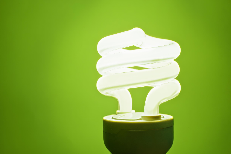 Ampoule fluocompacte.