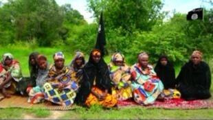 Baadhi ya wanawake waliotekwa na wapiganaji wa Boko Haram.