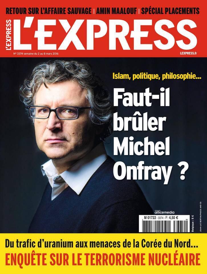 """روی جلد مجله """"اکسپرس"""" این هفته، ٢ تا ٨ مارس ٢٠١٦"""