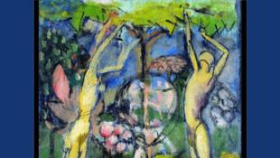 Marcel Duchamp, «La Peinture, même» : «Le Printemps ou Jeune homme et jeune fille dans le printemps (1911)».