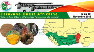 C'est la deuxième édition de la caravane ouest-africaine qui traverse cette année 6 pays.