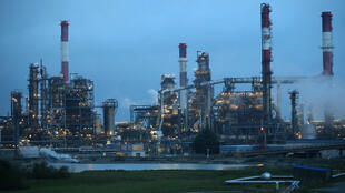 An oil refinery in Donges, France