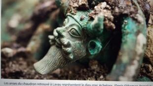 IMG_1817,Les anses du chaudron retrouvé à Lavau