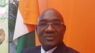 Docteur Adama Coulibaly, directeur général de l'autorité en charge de la régulation de la filière coton et anacarde en Côte-d'Ivoire.