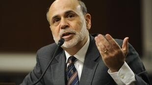 Le président de la Banque centrale américaine, Ben Bernanke, au Congrès des Etats-Unis le 4 octobre 2011.