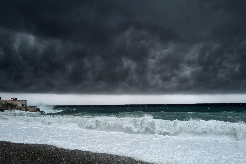 La tempête Alex frappe les côtes de la Côte d'Azur, à Nice le 2 octobre 2020 (photo d'illustration).