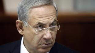 Benyamin Netanyahu, en août 2013.