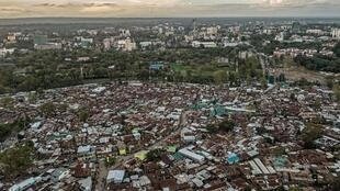 The Kibera slum in Nairobi. Coronavirus lockdowns will have a devastating impact on Africa's urban poor, say experts
