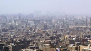 La ville du Caire, en Egypte.