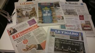 Diários franceses 04.10.2016