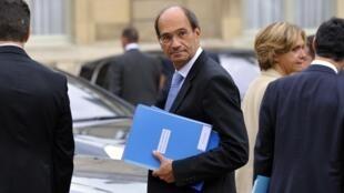 Bộ trưởng Lao động Pháp Eric Woerth, ngày 08/09/2010