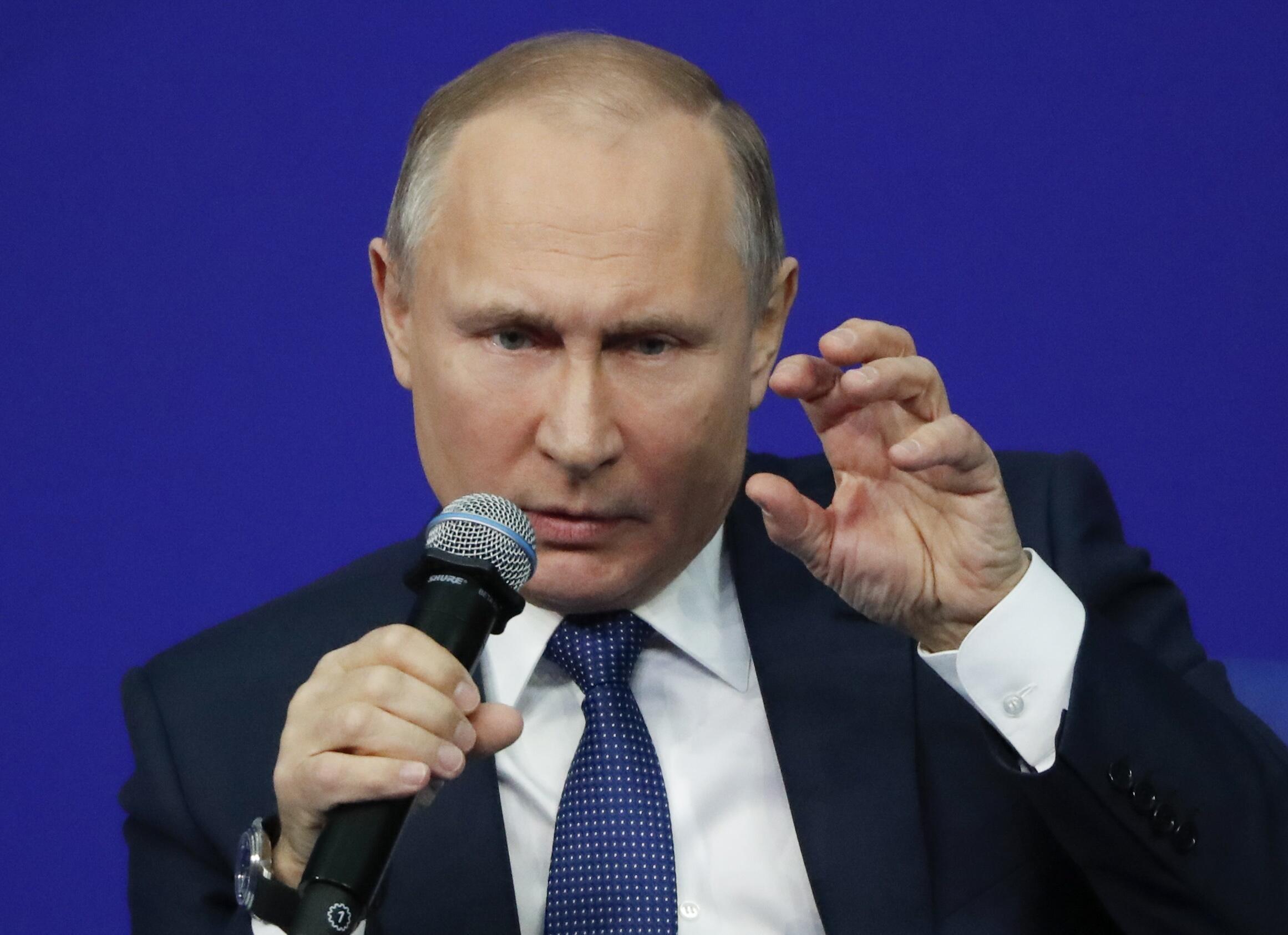 """Владимир Путин на встрече с """"доверенными лицами"""". Москва, 30 января 2018 г."""