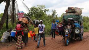 Refugiados congoleses regressam à RDC, 31 de Outubro de 2018.