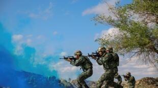 2018年中国军队参加军演资料图片
