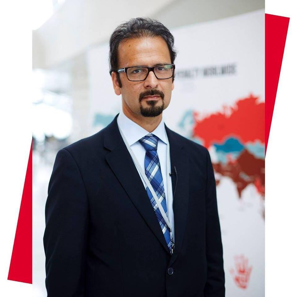 """محمود امیری مقدم، مدیر """"سازمان حقوق بشر ایران"""""""