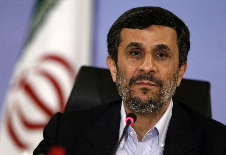 Mahmoud Ahmadinejad lors d'une conférence à Istanbul, le 9 mai 2011.