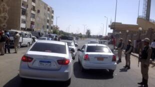 El-Arich, capitale du Nord-Sinaï.