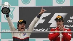 Sergio Pérez rompió con una racha de 41 años sin podio para México en Fórmula 1.
