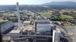 La centrale à la biomasse de Gardanne, un avenir incertain.