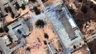 اردوگاه مهاجران که بمباران شد، در تاجوراء، در نزدیکی پایتخت لیبی قرار دارد