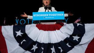 Хиллари Клинтон в Форт-Лодердейле, Флорида, 1 ноября 2016.