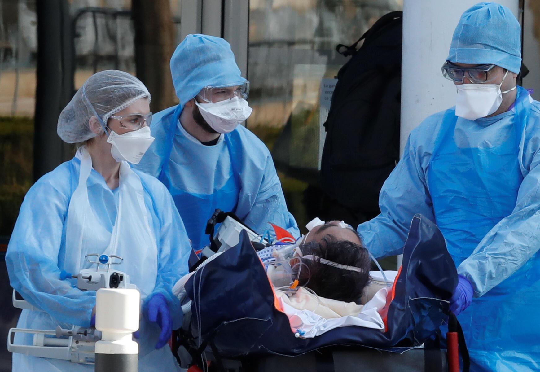 شمار قربانیان و مبتلایان به بیماری کویدـ۱۹ در فرانسه همچنان روند صعودی خود را دنبال میکند.