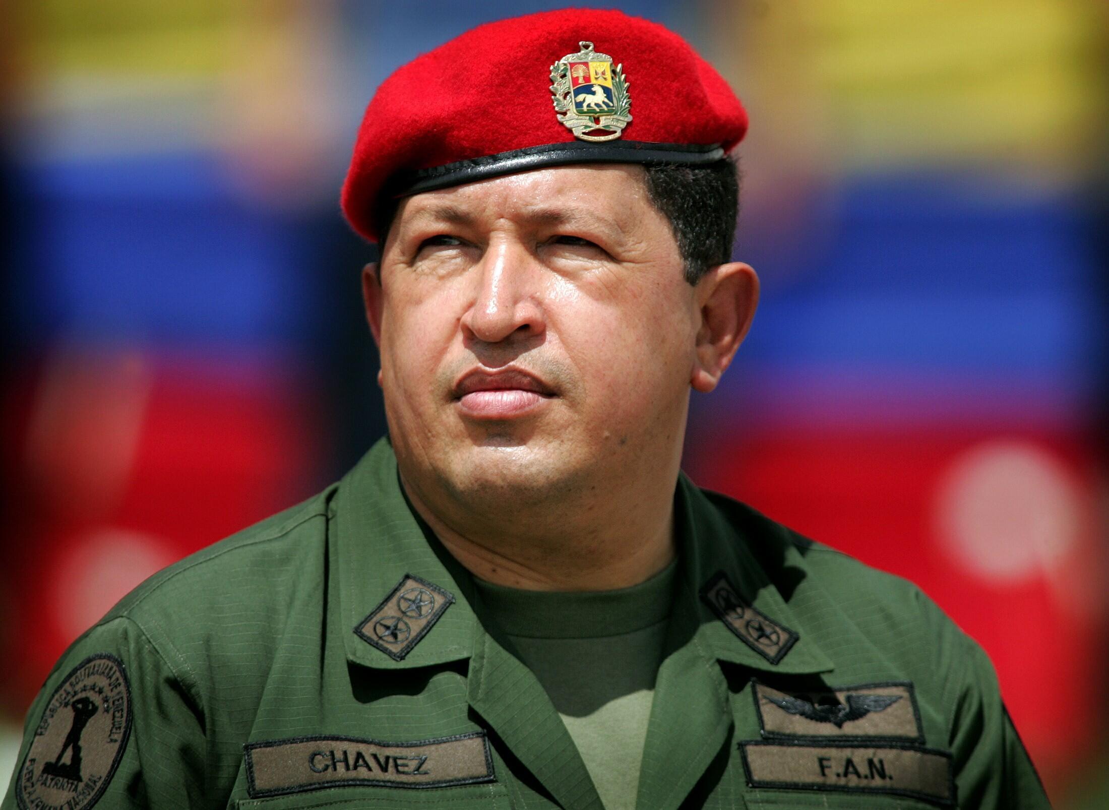 Hugo Chávez  na Venezuela