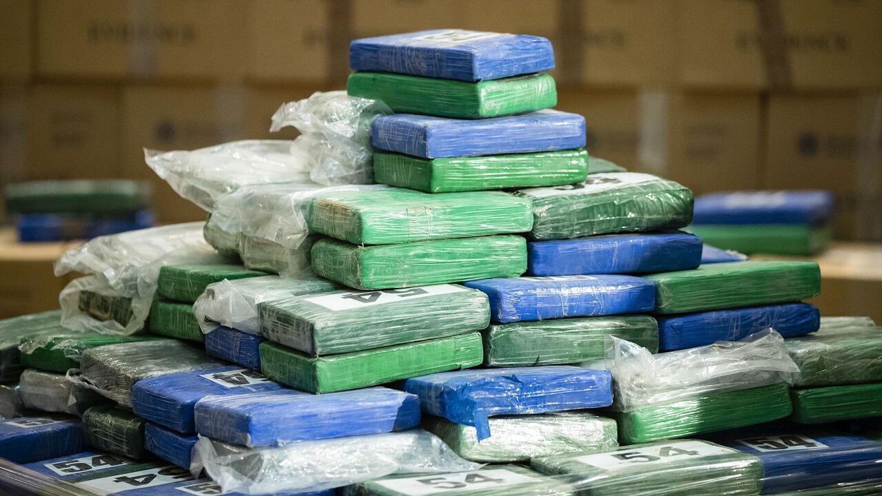 PHOTOS Cocaïne saisie