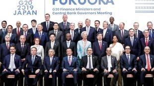 Hai ngày họp cấp bộ trưởng Tài Chính nhóm G20 đã kết thúc tại Fukuoka, Nhật Bản, ngày 09/06/2019.