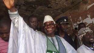 Ernest Koroma, le 17 novembre 2012 à Freetown.