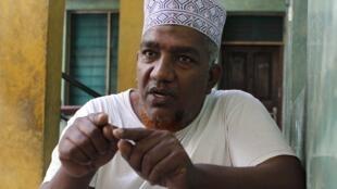 Abubakar Shariff akihojiwa mjini Mombasa oktoba 5 mwaka 2013