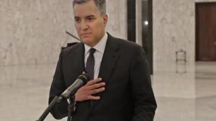 Mustafa Adib, nono primeiro-ministro libanês nomeado a 31 de Agosto de 2020