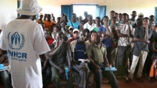 Le camp de réfugiés de Molé, en RDC.