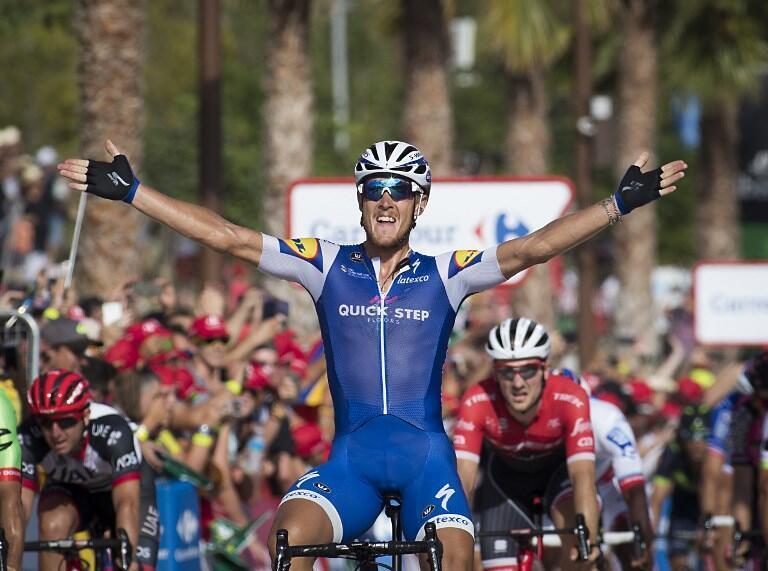 O italiano Matteo Trentin, da equipa Quick-Step Floors, venceu a quarta etapa da Volta a Espanha.