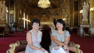 A jornalista e escritora Suzette Bloch é correspondente permanente da AFP no Senado francês.