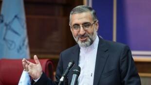 غلامحسین اسماعیلی سخنگوی قوۀ قضائیه جمهوری اسلامی ایران.