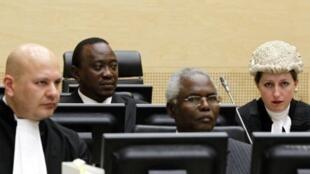 makamu waziri mkuu wa Kenya Uhuru Kenyatta mbele ya korti kuu ya ICC