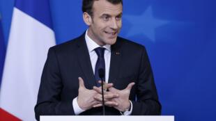 Rais wa Ufaransa Emmanuel Macron.