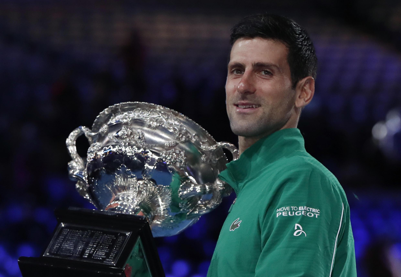 Novak Djokovic won his first Australian Open title in 2008.