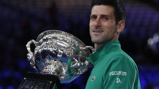 Novak Djokovic won his first Australian Open title in 2008.